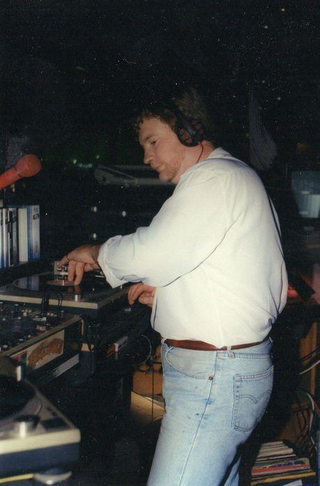DJ Ean working at Powerhouse.
