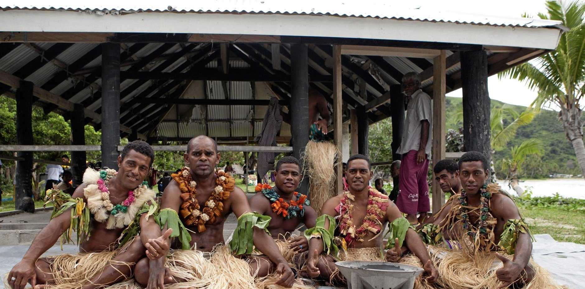The kava welcoming ceremony is a special treat when you visit the remote smaller islands of Fiji.