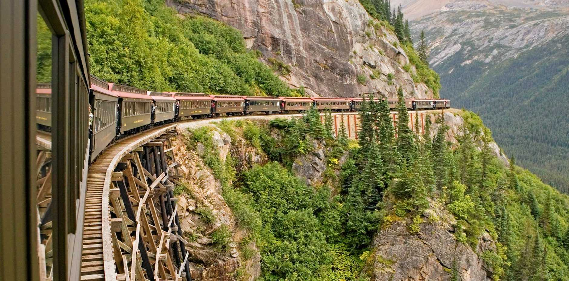 In terms of engineering marvel, the White Pass and Yukon Route is up there with the Panama Canal, the Eiffel Tower and the Statue of Liberty.