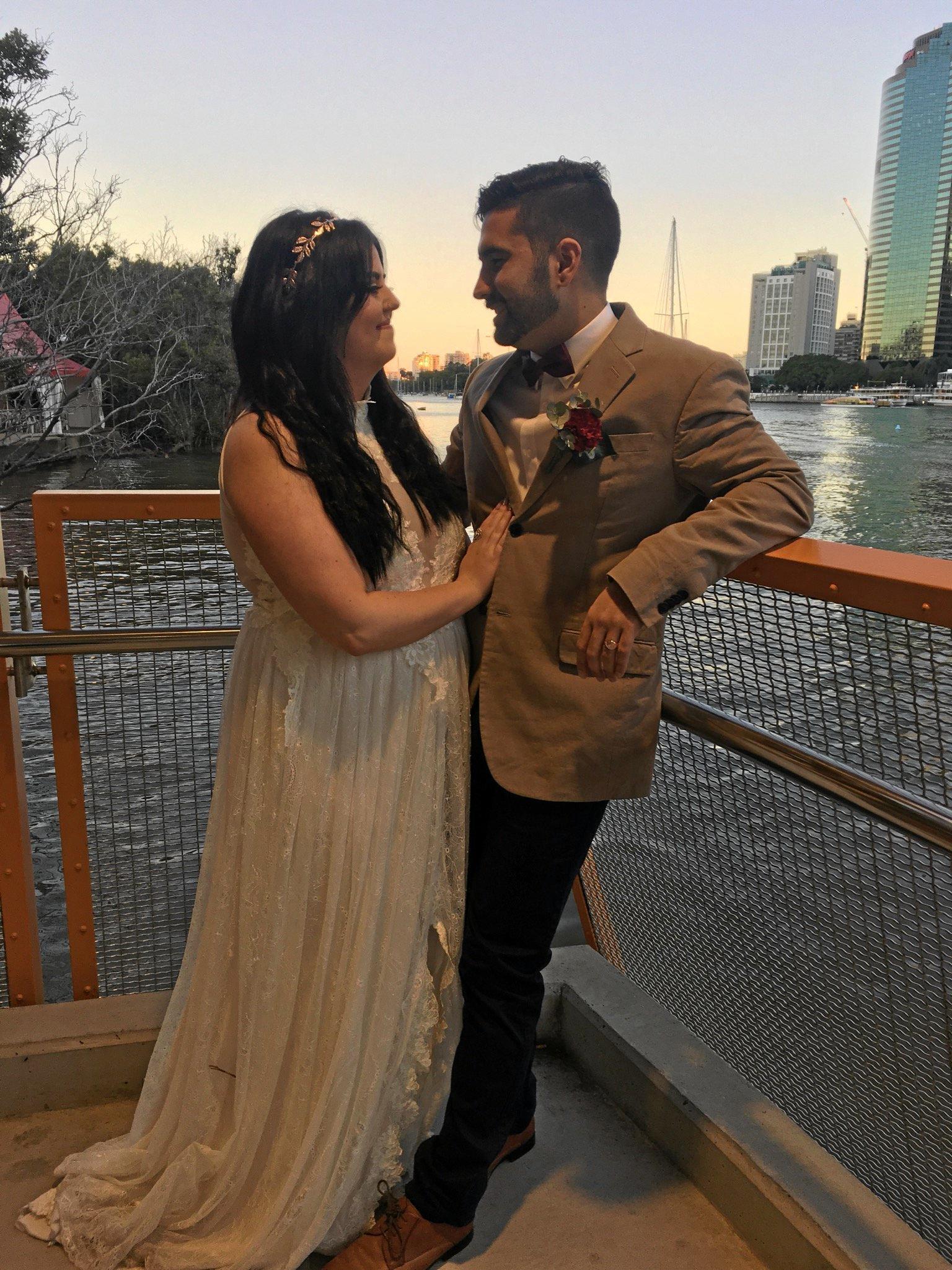 Darius Nooriafshar marries Eliza-Jane Baker on Friday, July 1.