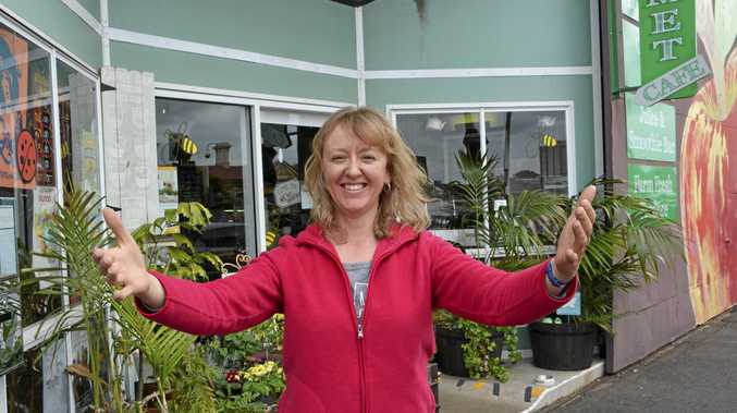 CHARITABLE HEART: Kingsthorpe woman Marilyn Kleemann will host a hugging stall at Homegrown Health this morning.