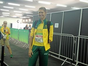 Carlee Beattie ponders 2020 after jumping to bronze in Rio