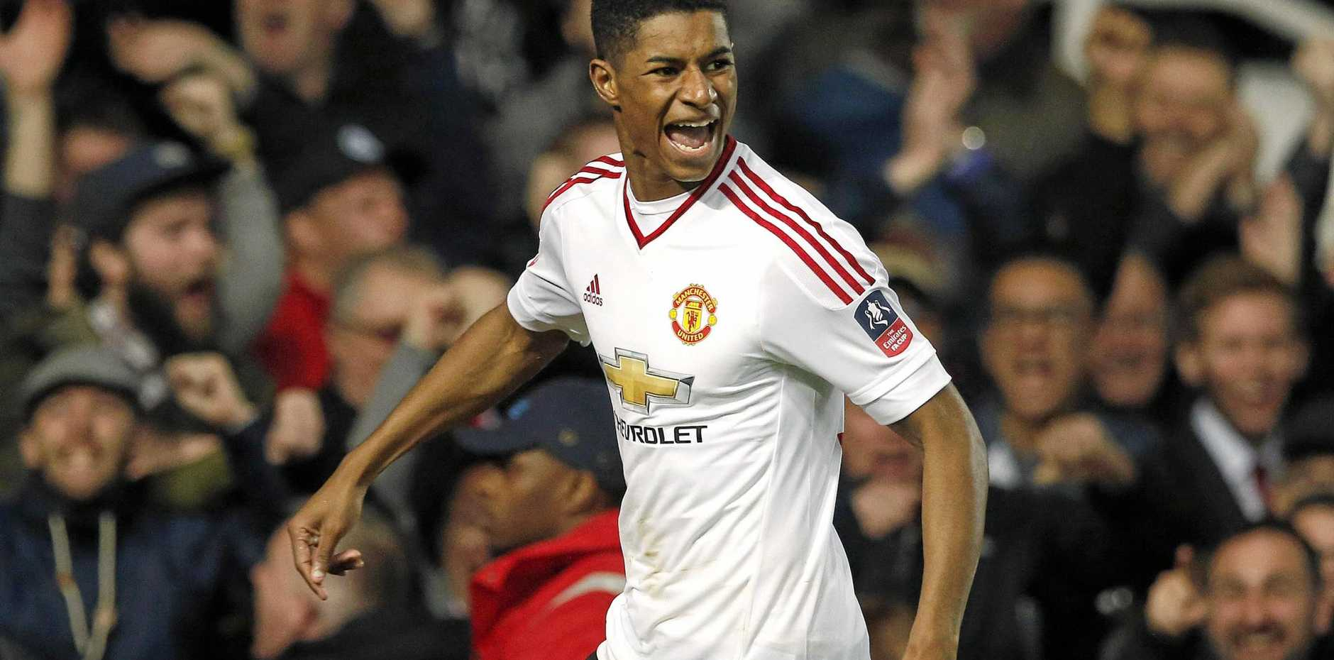 Manchester United's teenage striker Marcus Rashford.