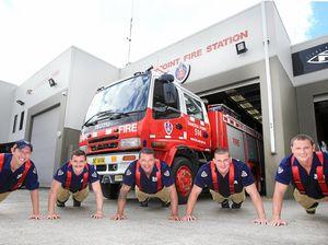 Banora Point firie push-ups go viral