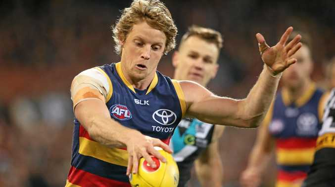 Rory Sloane of the Crows is back from suspension.