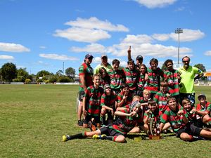 Hervey Bay Seagulls claim the under-13s premiership