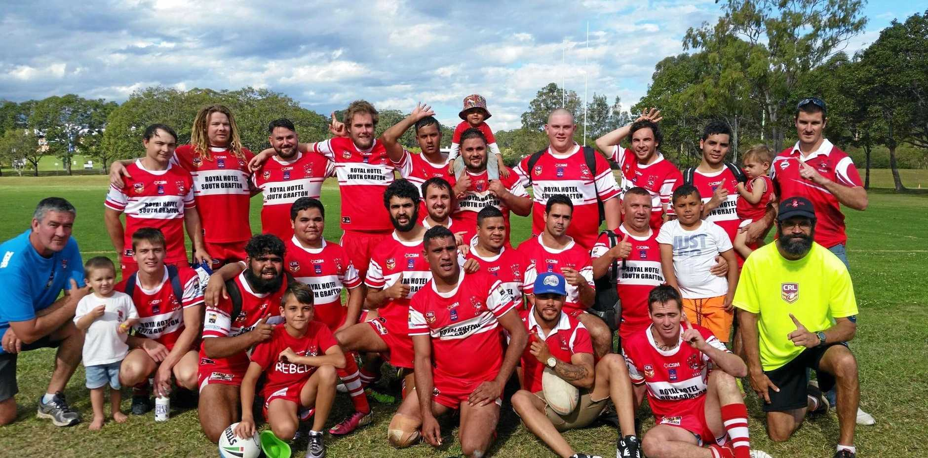 TEAM SPIRIT: South Grafton Rebels reserve grade side will need to be on top of their game when they face off against Macksville Sea Eagles in the grand final.
