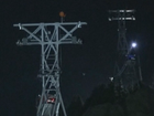 110 trapped in cable cars above the French Alps