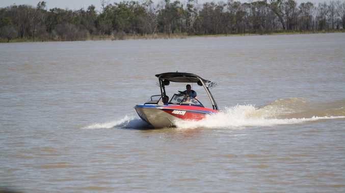 Two people are seriously injured after a watercraft accident at Fairbairn Dam