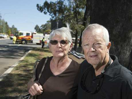 Malcolm and Marie Lehman were returning from visiting their daughter in Armidale when they were in a crash on the New England Hwy at Highfields.