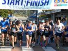 READY, SET,GO: And the competitors are off at the start of the Darrel Chapman Fun Run in Lismore.