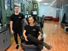 TOP CUT: Cohen Wassell and Evan Treacy own Thieves and Beggars in East St and were voted Rockhampton's best barbers in the Morning Bulletin online poll.