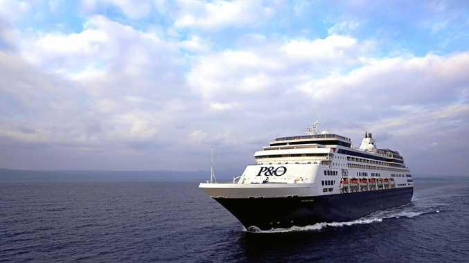 A free cruise? That's a pretty good work perk.