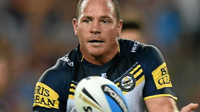 Matt Scott of the North Queensland Cowboys.