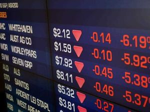 Billions wiped off sharemarket amid rate hike fears