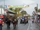 Even though it rained on the parade, the float entrants of the Laidley Spring Festival persevered.