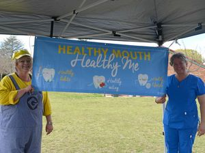 Expo teaches kids how to look after their smiles