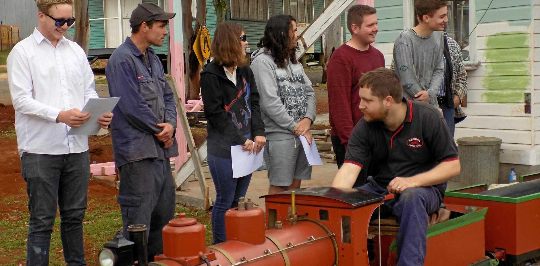 Toowoomba trainees build train tracks with new skills   Chronicle