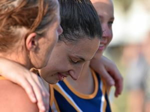 Lauren Mortimer's injury cuts short her netball final