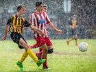 Football teams shine despite a wet and windy end to the season