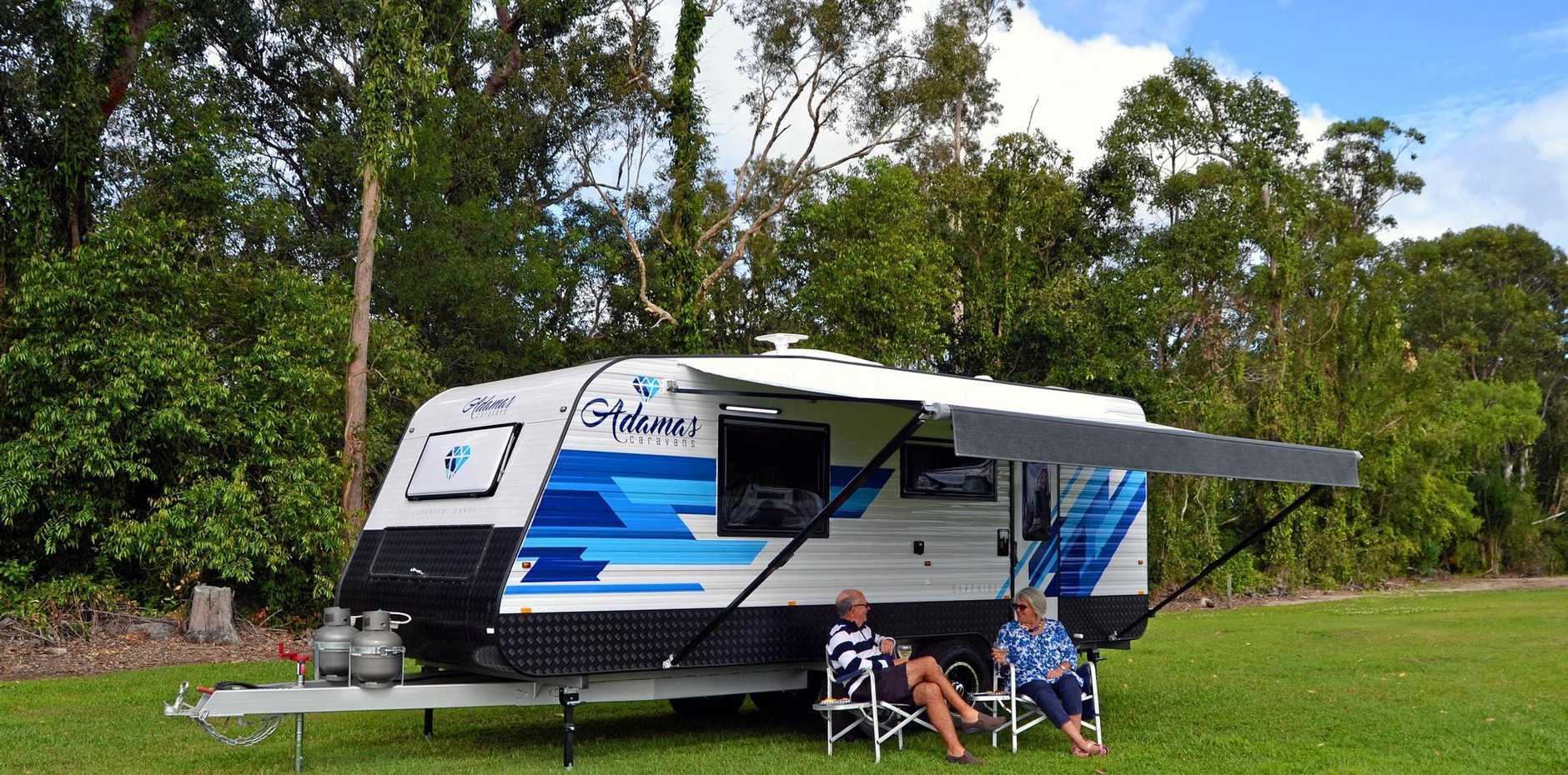 Caravanners and campers spend an average $152 a night in our region.