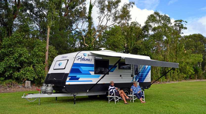 Caravanners and campers spending an average $152 a night in our region.