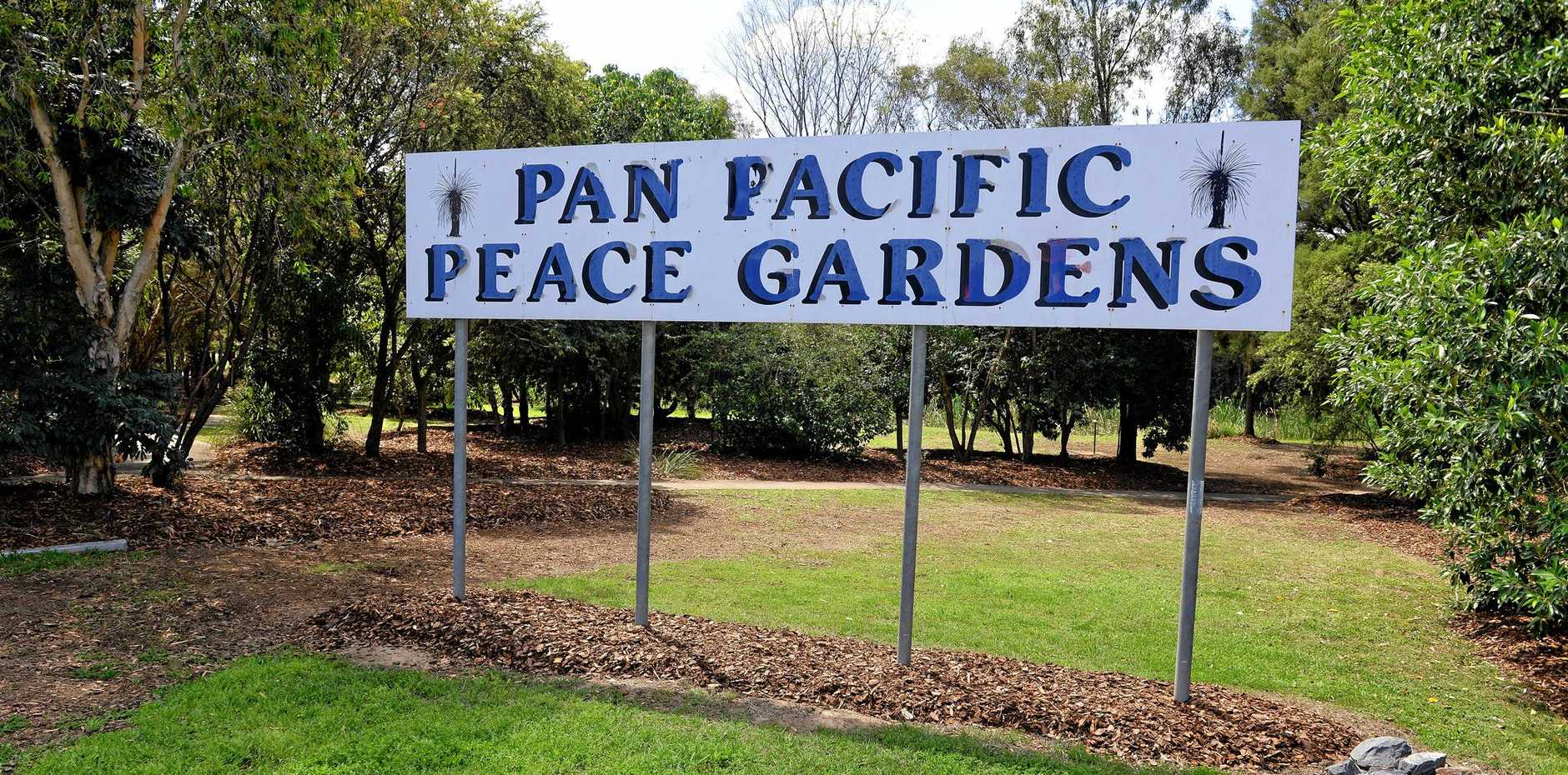 HANKY PANKY HOTSPOT: Redbank's Pan Pacific Peace Gardens are a magnet for gay men hooking up.