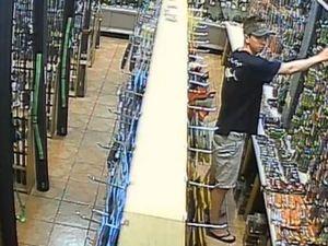 Thieves caught on CCTV footage