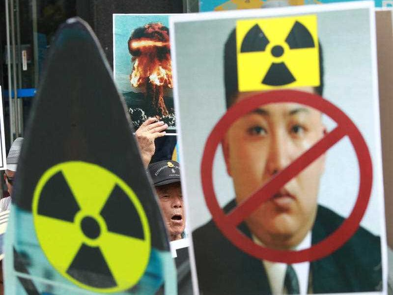On Monday, China said the United States has inflamed the conflict on the Korean Peninsula and must carry the burden of ending it in the wake of North Korea's fifth nuclear test.