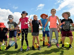 Kids kick off disability action week