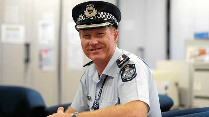 'BUNDY'S BEEN VERY GOOD TO ME': Inspector Grant Marcus is leaving for Charleville.