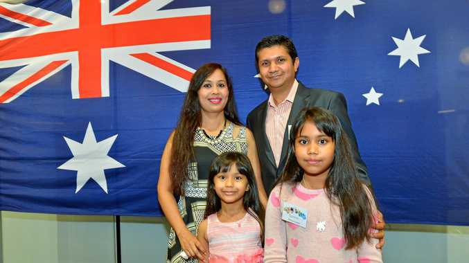 Last year's citizenship ceremony.