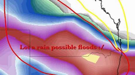 Higgins Storm Chasing is forecasting heavy rain over the next week.