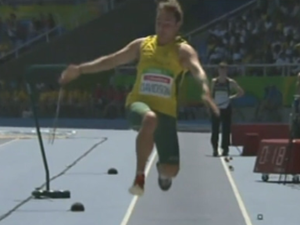 Gold for Australia's Brayden Davidson