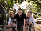 KEEPING ACTIVE: Tania Pitt, John Gamlin and Maree Itzstein are encouraging Bundaberg residents to join the kick the Kilos campaign.