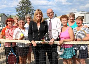 Funding grand slams for two tennis clubs