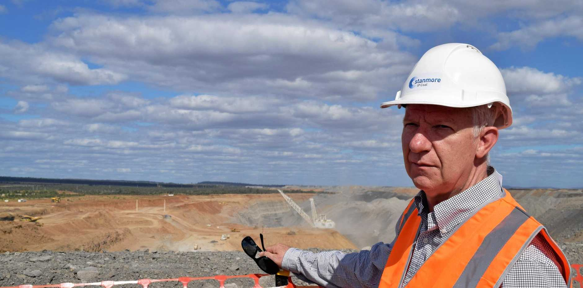 Queensland Resources Council chief executive Michael Roche believes a shift to junior players in the Bowen Basin may create more work for those in the mining equipment, technology and services (MET) sector. Photo: Emily Smith
