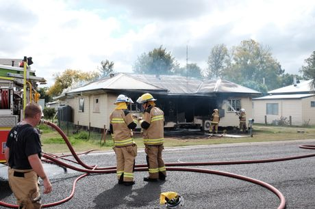 A house was destroyed by fire in Chinchilla this morning.