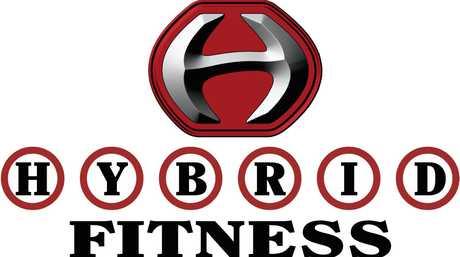 Hybrid Fitness Logo.