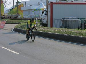 Coast cyclist wins silver