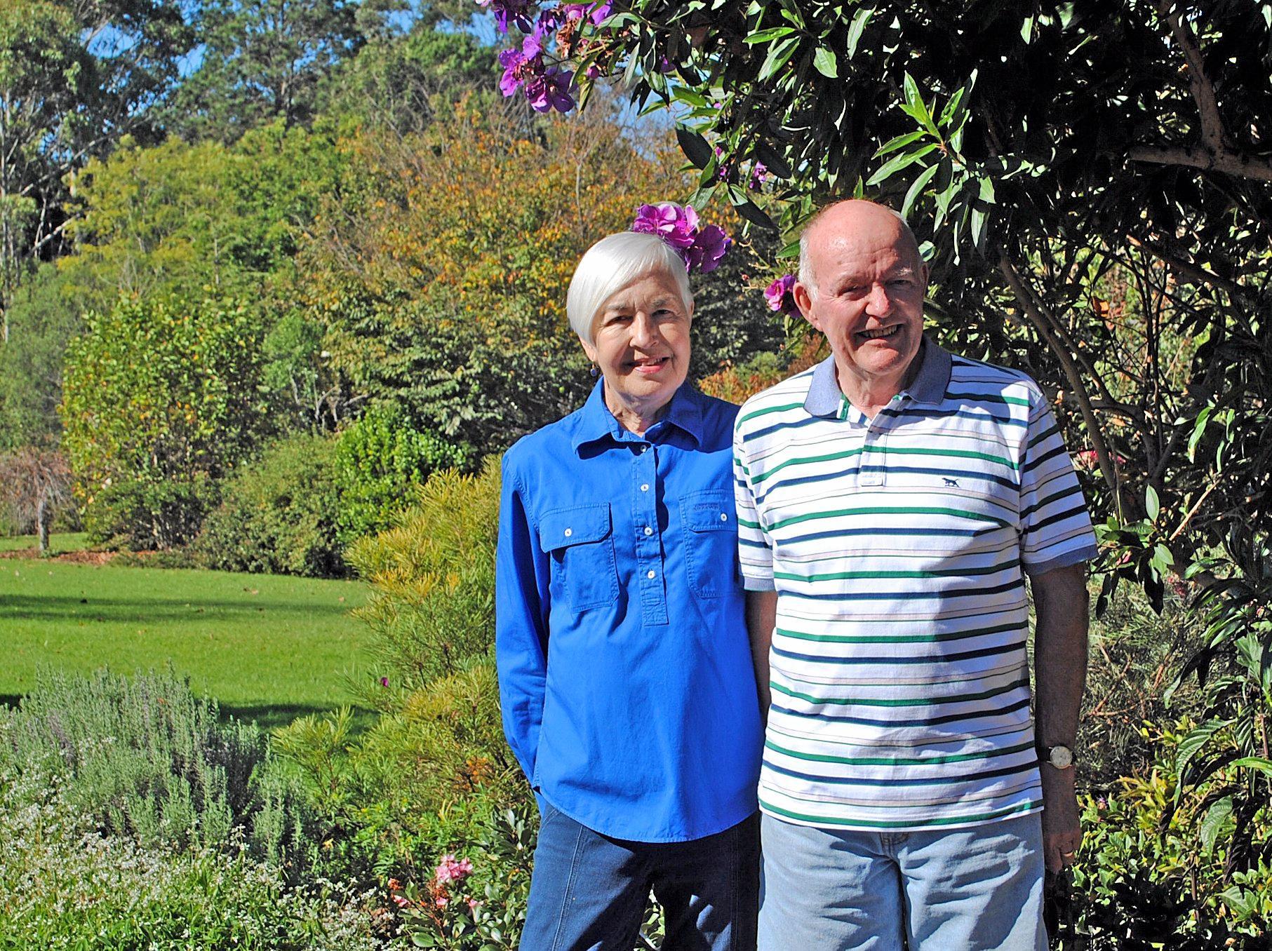 VISIT VISTA: Frances and David Cowper will present.