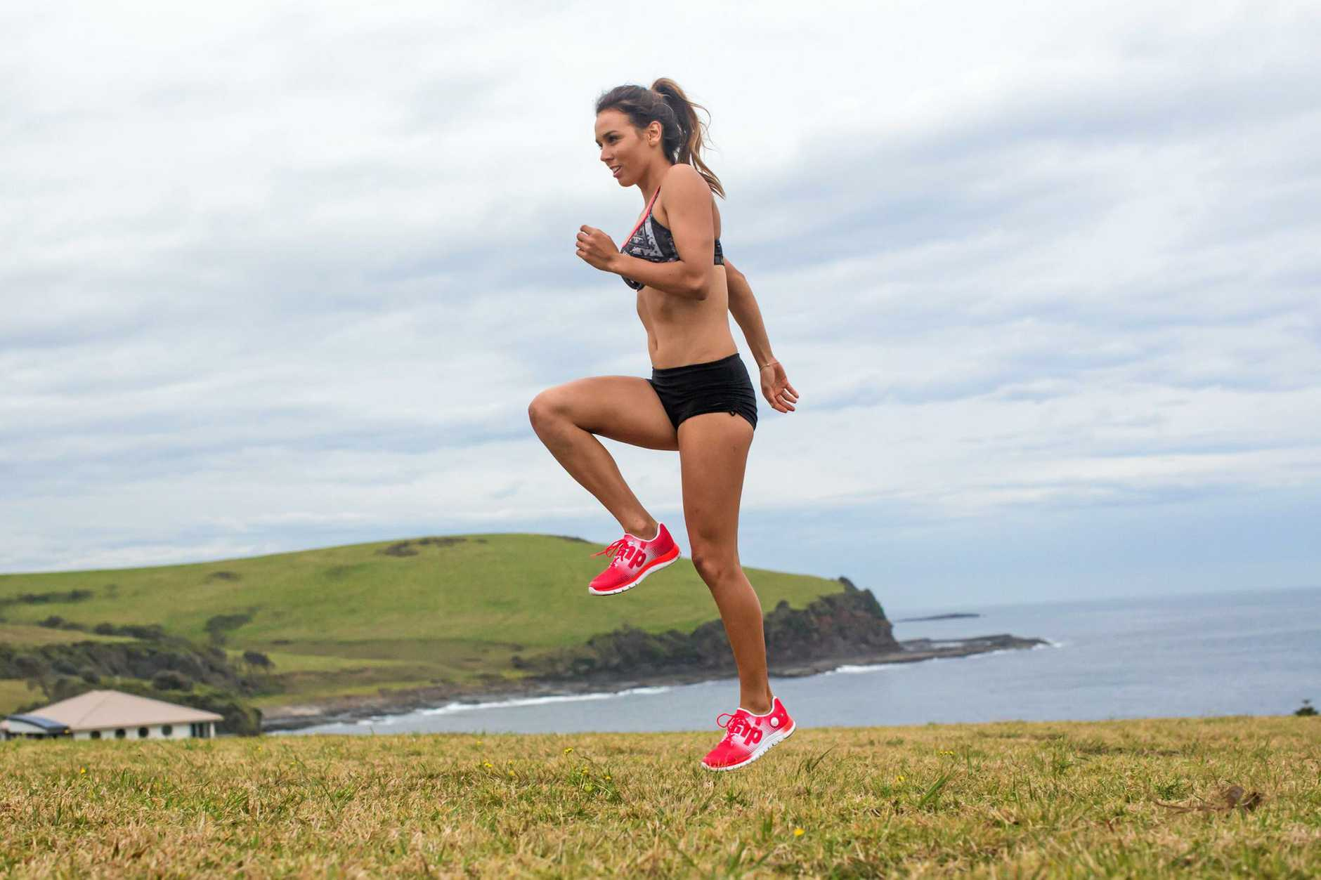 Week 2, Train Like Sally Workout, for Weekend magazine use only.