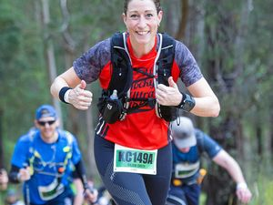 Trail runs over roads for a fitness freak