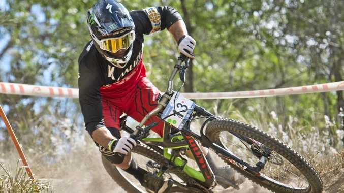 Decorated mountain bike rider Jared Graves is aiming for a strong finish to the World Enduro Series.