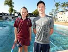 MAKING A SPLASH: Rockhampton's young swim stars Taryn Roberts and Ty Hartwell are set to compete on a national stage.