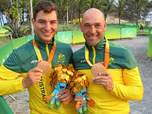 Karana Downs guide shares in surprise Paralympics success