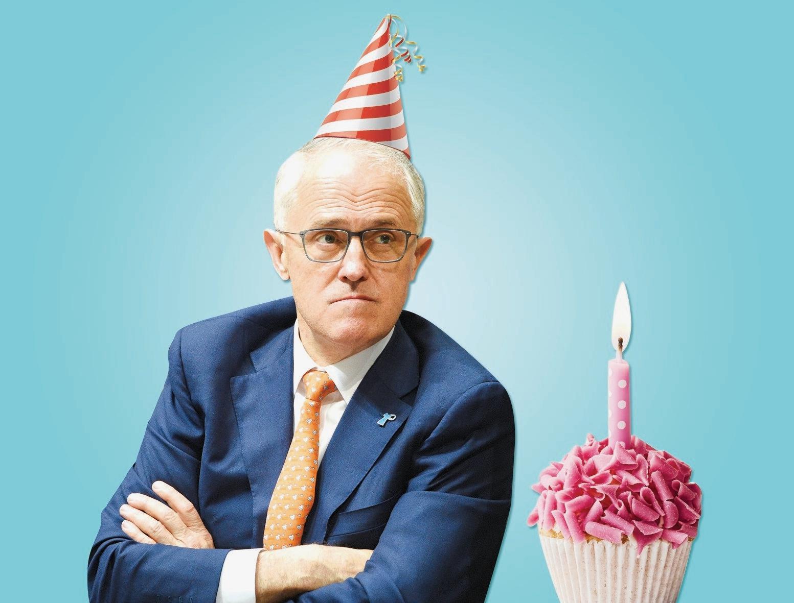 STRANGE POLITICS: Nothing spells bad birthday for Malcolm Turnbull like having Pauline Hanson as a gatecrasher.