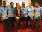 Solomon Islanders sing thanks