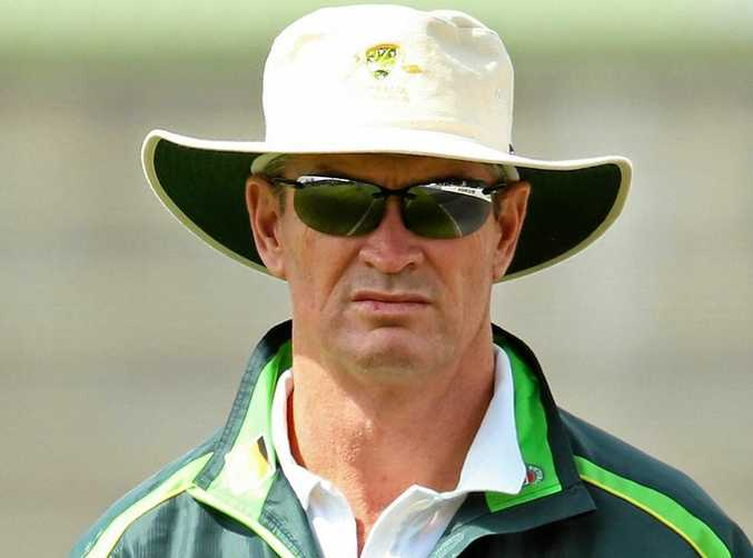 Graeme Hick in his time as Australia's high-performance coach in 2013.