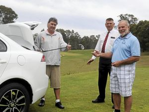 Golfers swing into Grafton for Pro-Am event